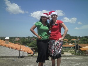Bekah santa hat